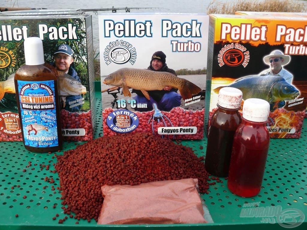 A Pellet Pack Turbo doboza már 4 terméket tartalmaz