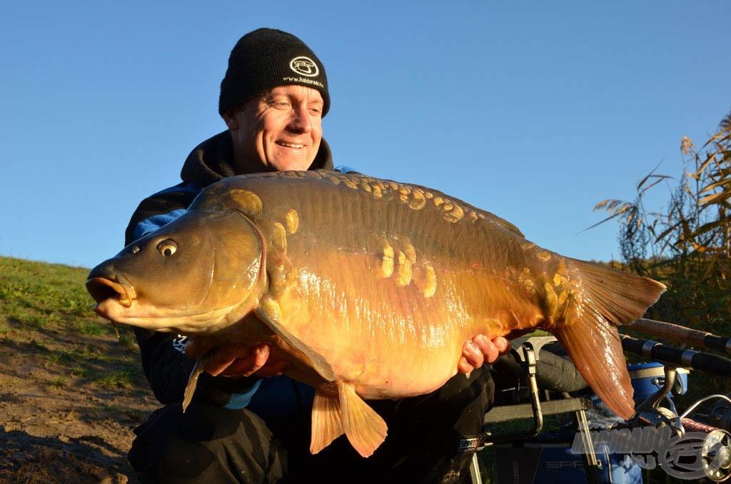 Ez a 12 kilós tükrös volt a nap első hala