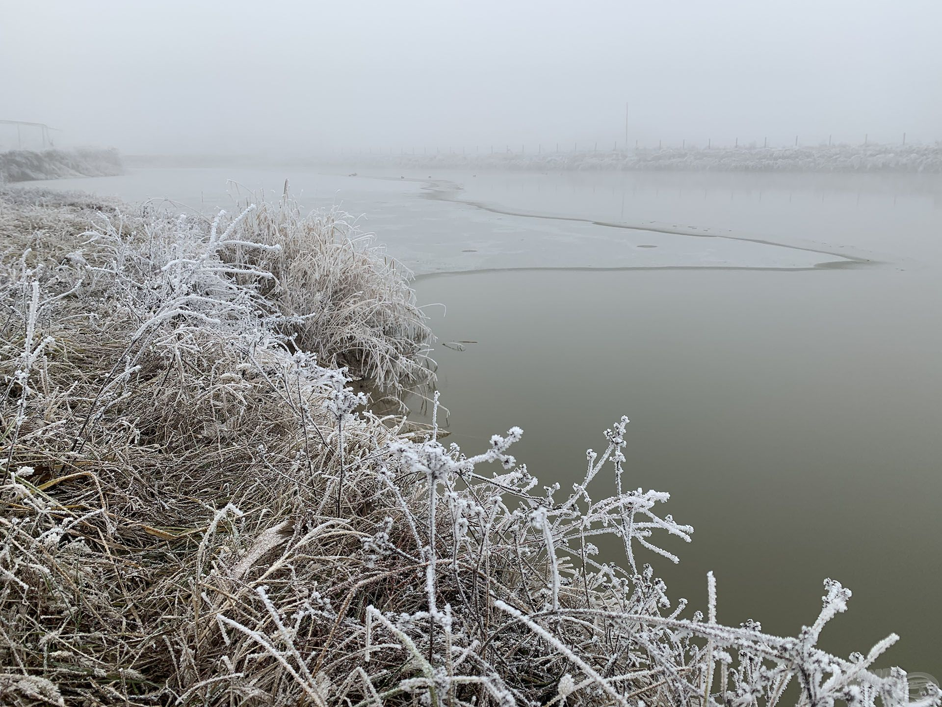 De szerencsére van még néhány olyan tó, amely most is horgászható!