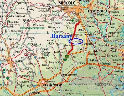 A Harsányi tó Miskolctól mindössze 10 kilométerre található