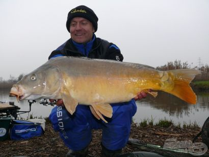 Hideg vízi pontyhorgászat feederrel 6. rész - A Benta horgászpark titka