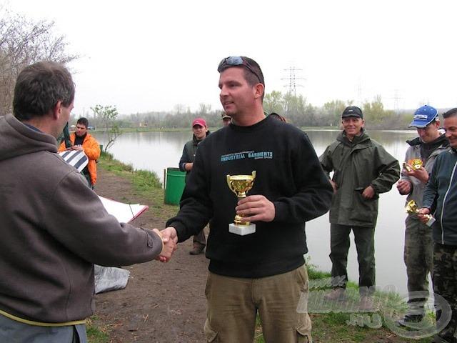 Az első versenygyőzelmem bár egy kis létszámú, amatőr versenyen történt, mégis a mai napig jó szívvel emlékszem rá