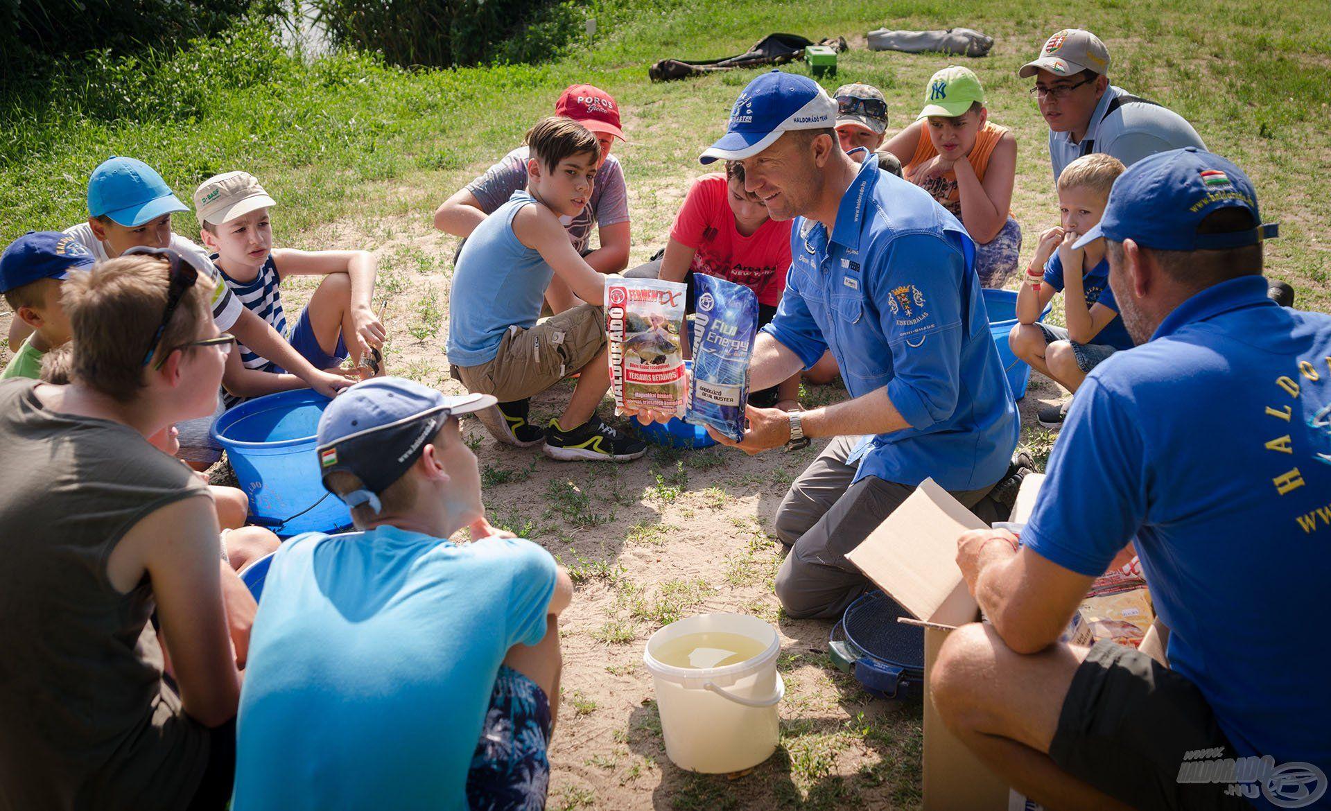 A horgászszakkörök és nyári táborok erre a legjobbak