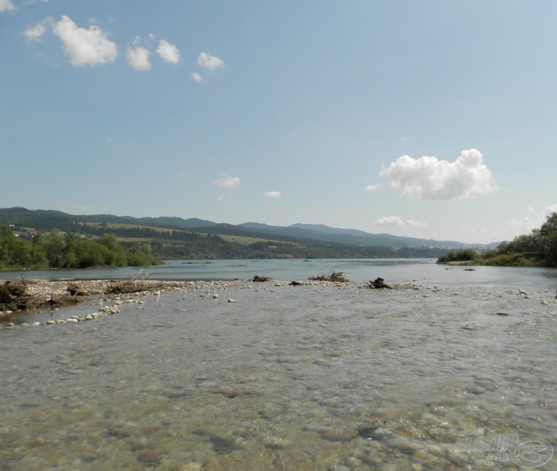 Csodaszép folyó a Białka