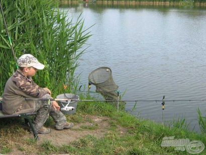 Horgászverseny gyermekeknek