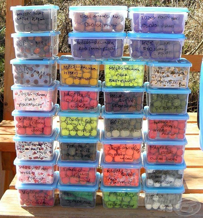Úgynevezett fagyasztó dobozkák: nagyon kis helyet foglalnak, velük semelyik ízről nem kell lemondanom, egyiket sem kell otthon hagynom helyhiány miatt