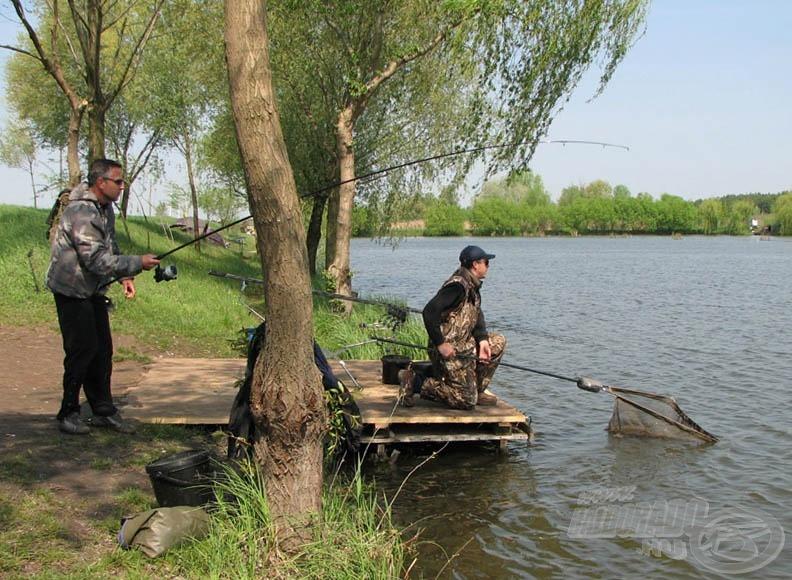 … és gyarapodott a kifogott halak száma