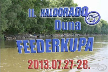 II. Haldorádó - Duna Feederkupa versenykiírás