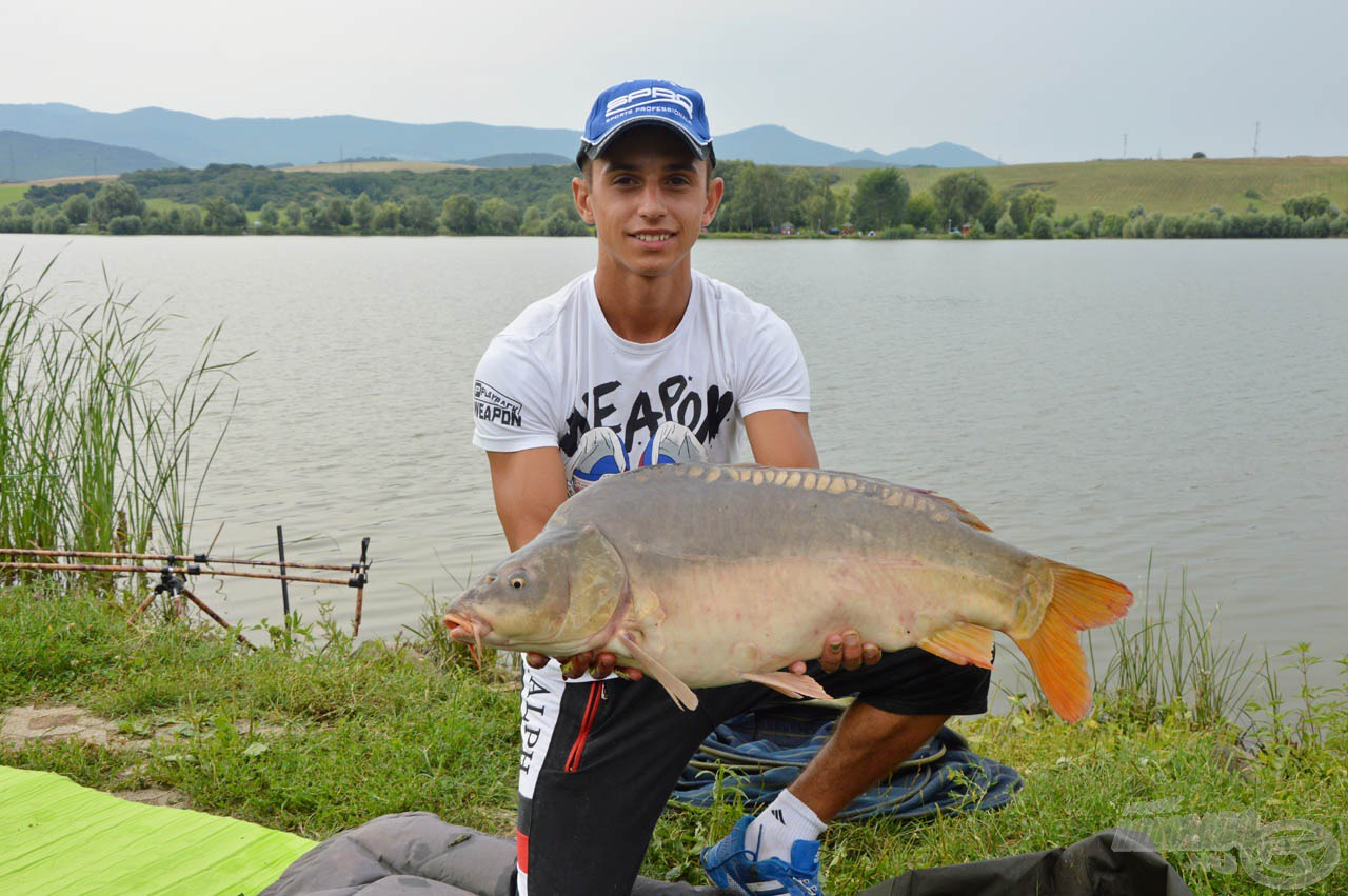 Az első nagytestű hal Kállai Alexander Márk nevéhez fűződik