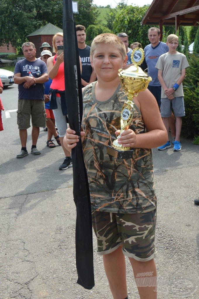 2. helyezett: Ferencsik Balázs 10.225 gramm