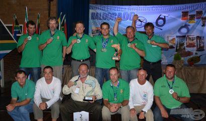 III. Feeder Világbajnokság Dél-Afrika, második versenynap