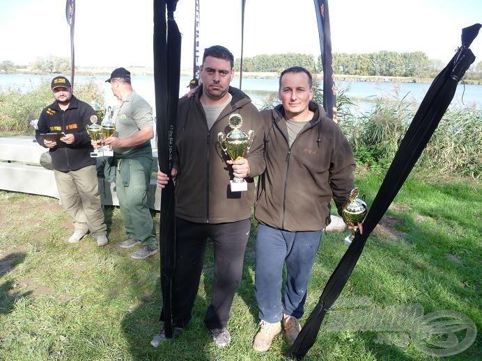 A tavalyi ötödik helyezett: Carp Fishing Team