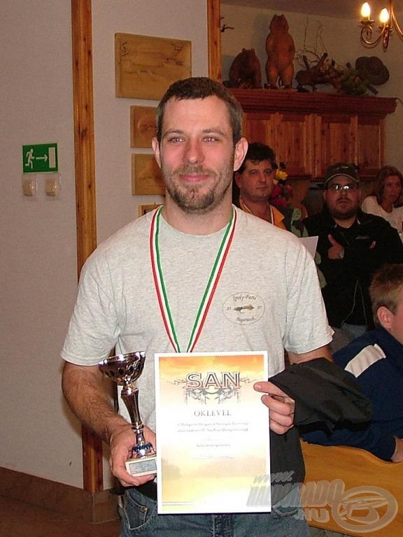 A bronzérmes: Csorbai Balázs