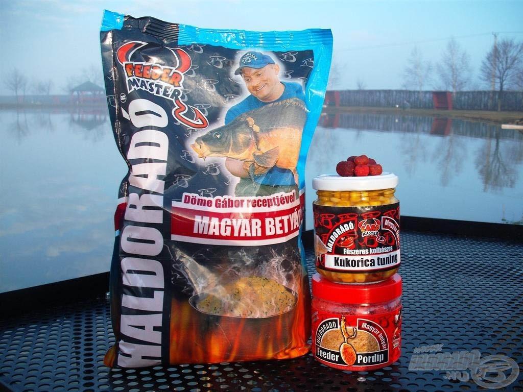 A Magyar Betyár termékcsalád fűszeres-kolbászos aromája nem csak a horgász orrának tetszik!