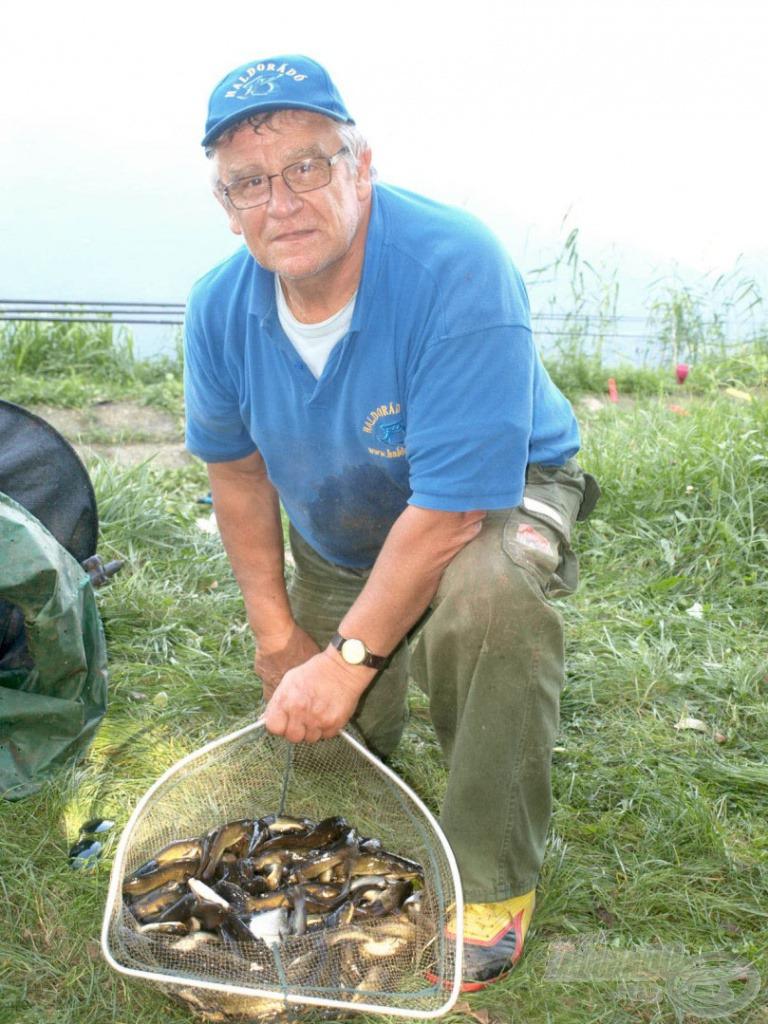 Nem a horgászok álma ez a teríték, de nekem nagy örömet okozott