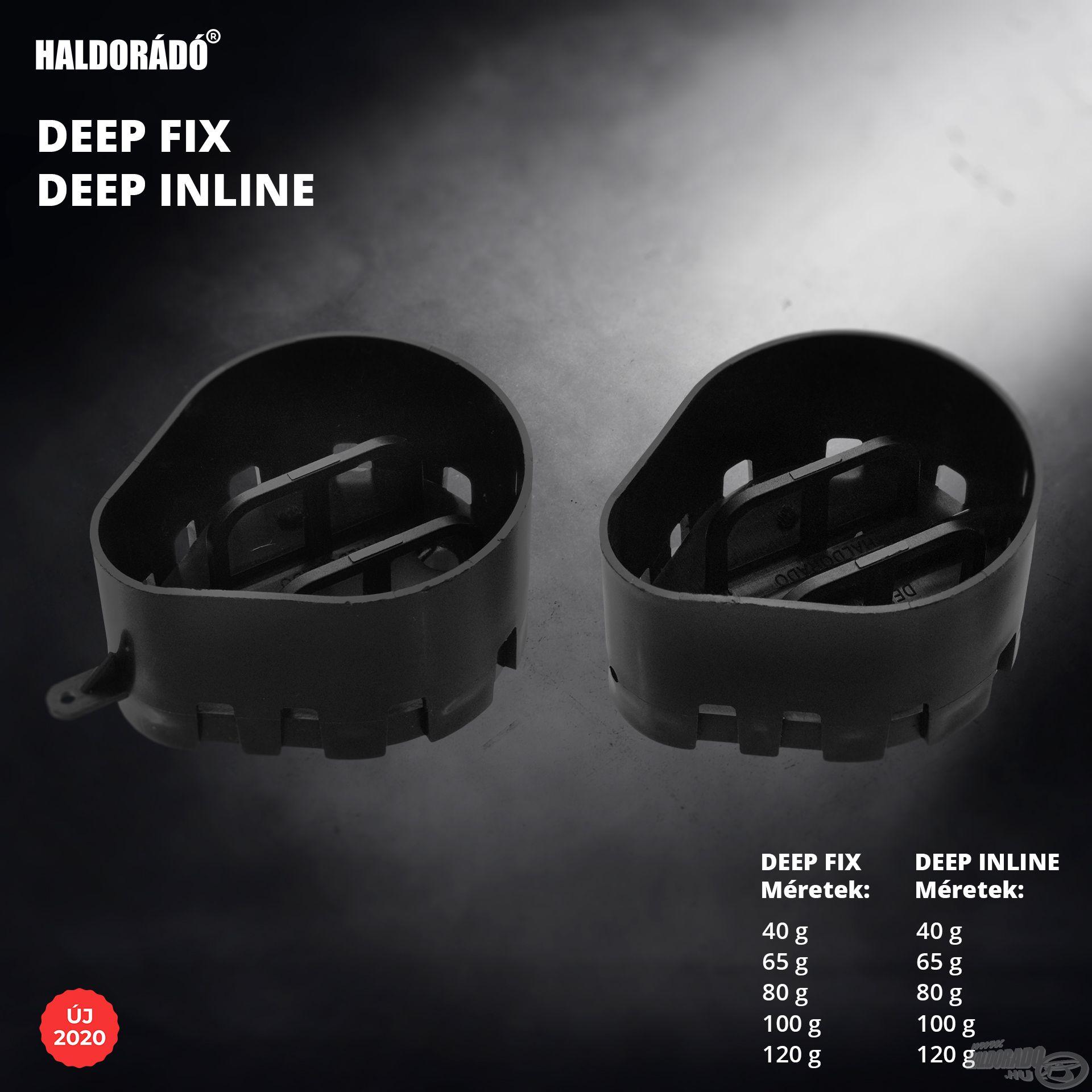 A Haldorádó Deep Inline és Deep Fix igazán szokatlan formájú kosarak, amelyeket speciális helyzetekre fejlesztettünk