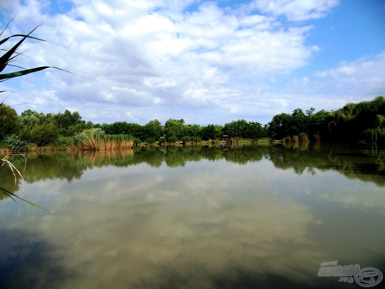 A tó eleje a legnépszerűbb