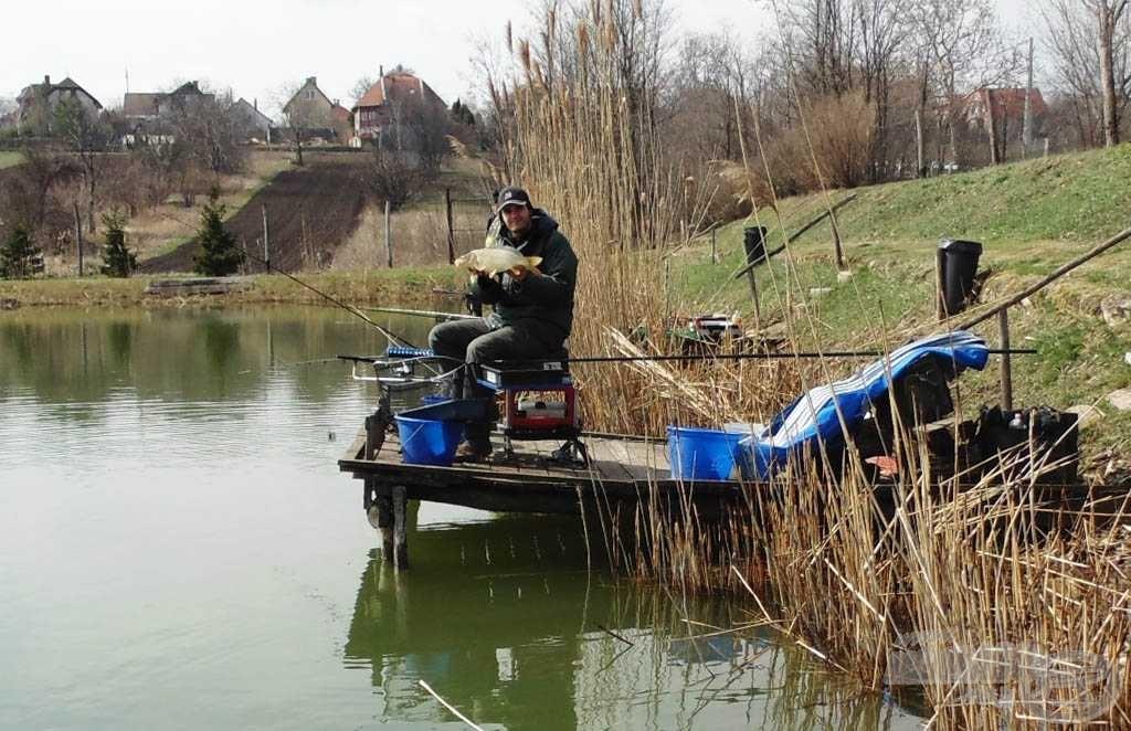 Kora tavaszi horgászatom sem volt teljesen sikertelen