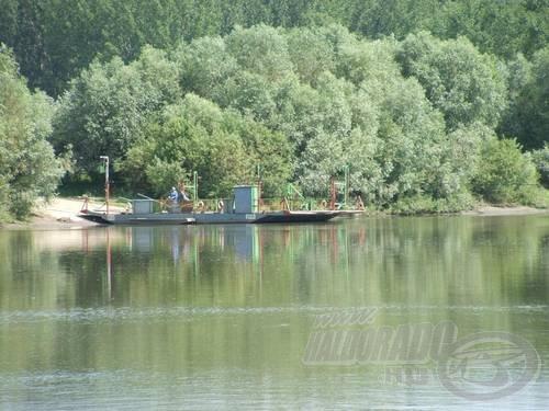 A kompátkelők környéke kedvelt hely az úsztatáshoz
