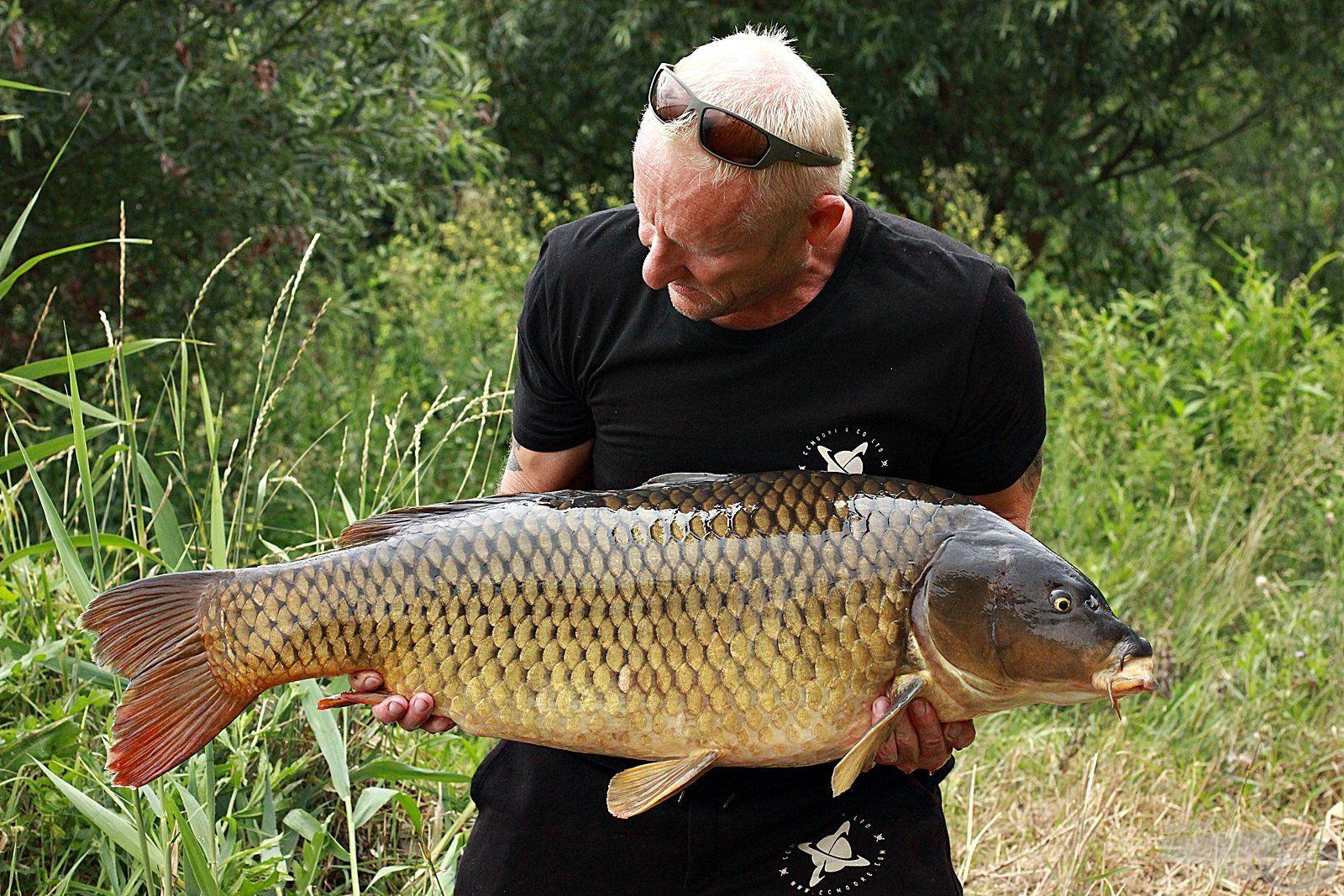 Egy Tisza-tavi őserő 15,80 kg-mal