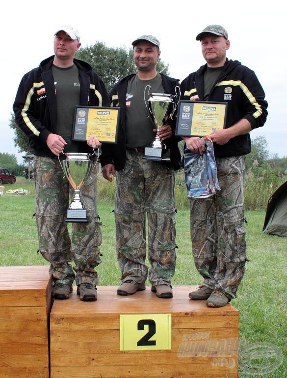 II. helyezett csapat: Allianz Halcapone Carp Team