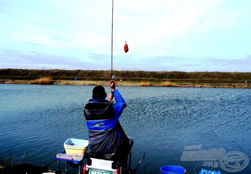 A sikeres horgászat egyik kulcsa a pontosság