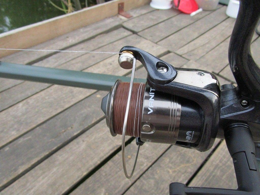 Zsinórjelölő filc segítségével könnyen tudtam az etetésen horgászni
