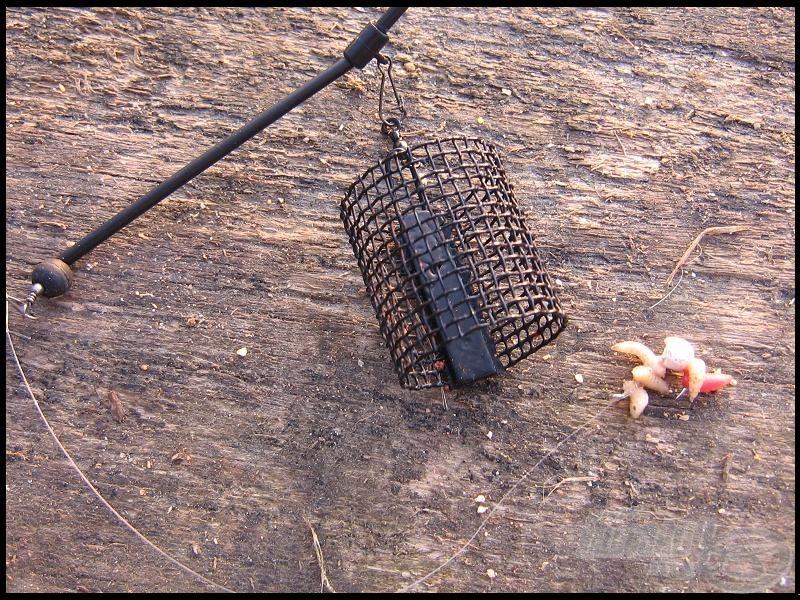 A feederes végszerelék