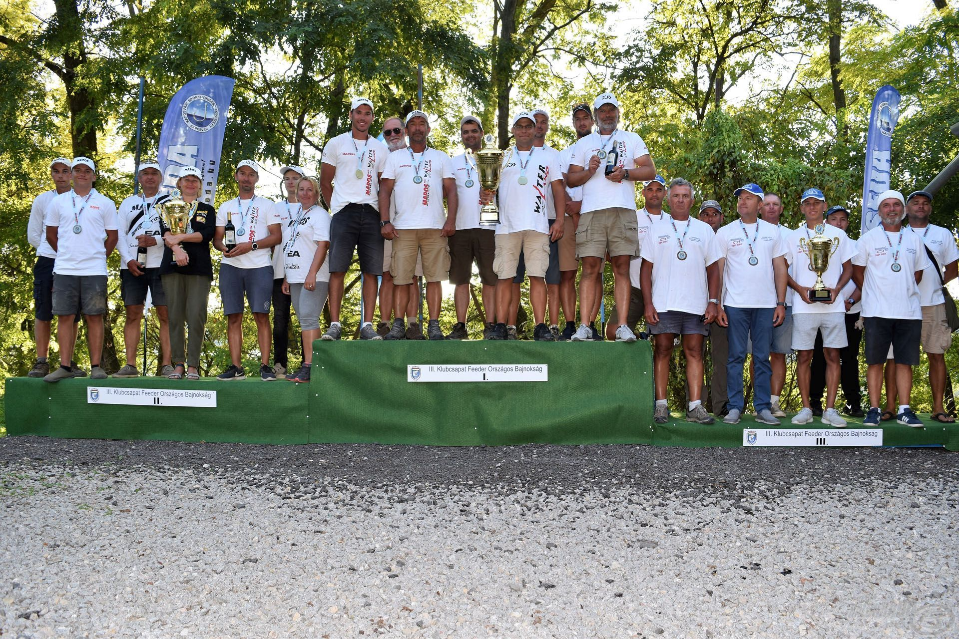 A III. Feeder Klubcsapatok Országos Bajnokságának dobogósai