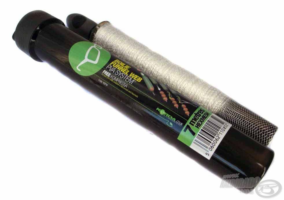 A Korda kiváló minőségű PVA terméke, amivel az etetőanyagot, stick mixet vagy más csalogatóanyagot koncentráltan tudjuk felkínálni
