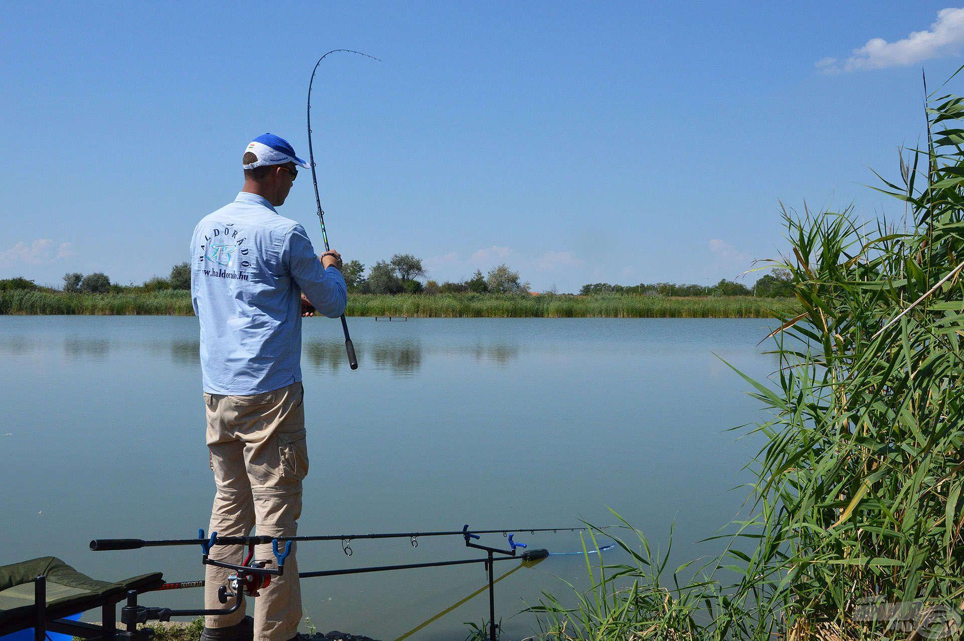 Remek szórakozásban és pörgős horgászatban volt részünk