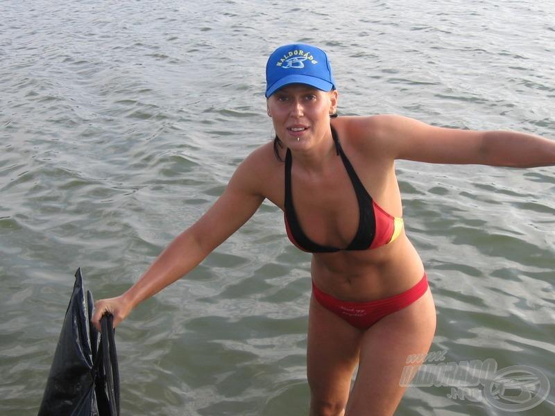 Hasonlóan szép fogásokat kívánok nektek is, hogy legyen miért  vízbe menni… :)