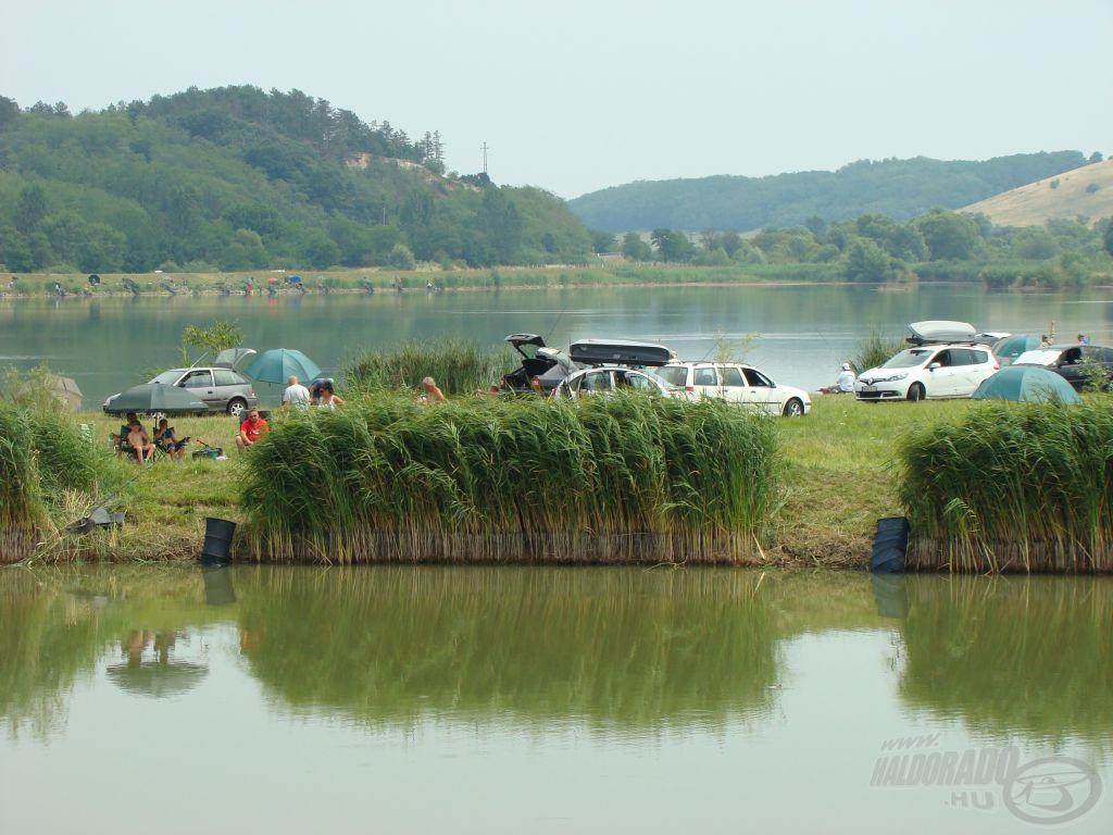 Élmény-tó és a Nyári kikötő, más nézőpontból