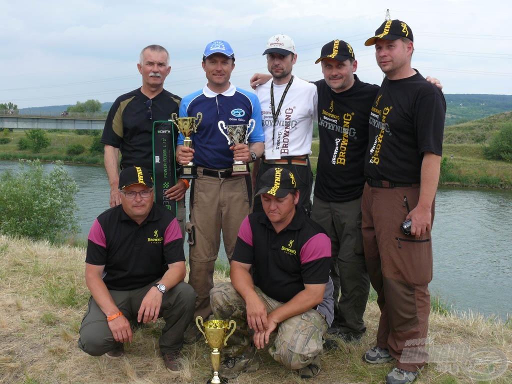 Köszönet a szervezőknek és a szlovák horgászbarátoknak a sok-sok segítségért