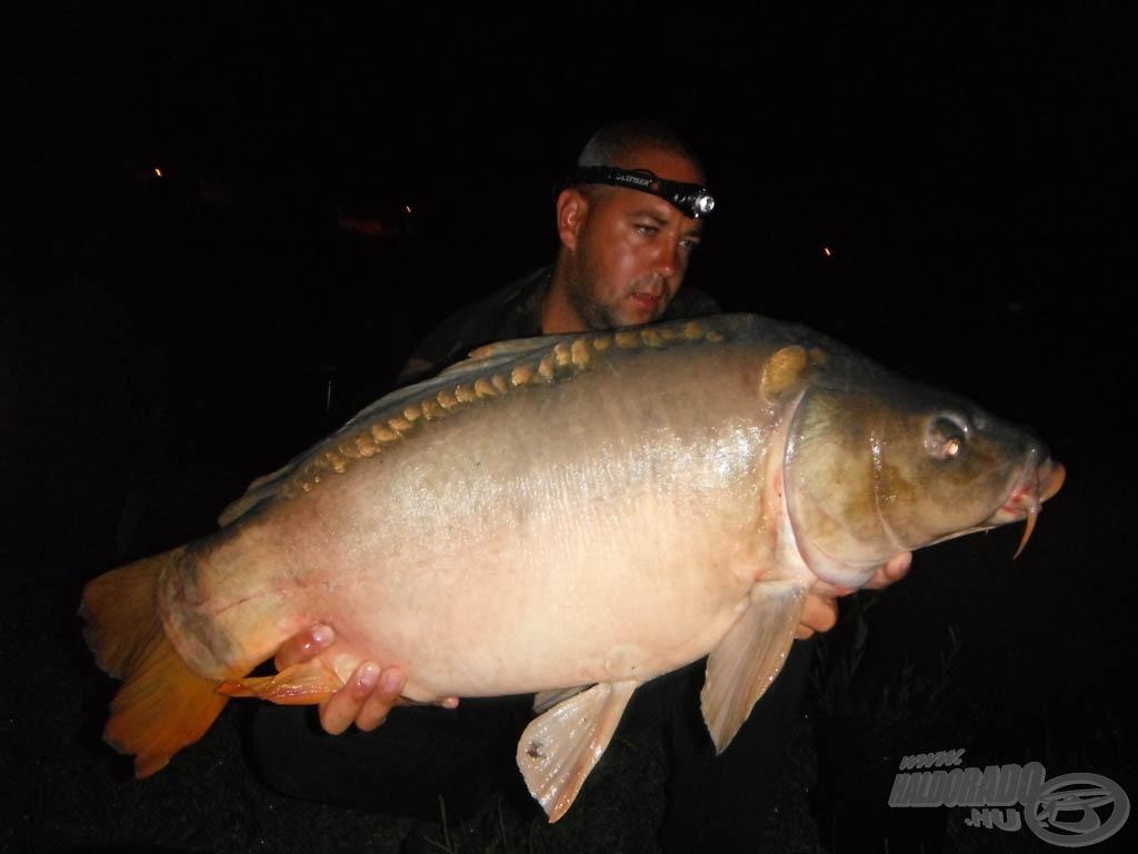 12,40 kg-os tükörponty