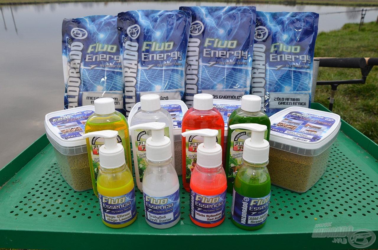 A Fluo Flavor aromák sikerén felbuzdulva és a horgászok kéréseinek eleget téve egy új, rendkívül attraktív csalogatóanyag családdal lépünk 2015-ben piacra, neve FLUO ENERGY