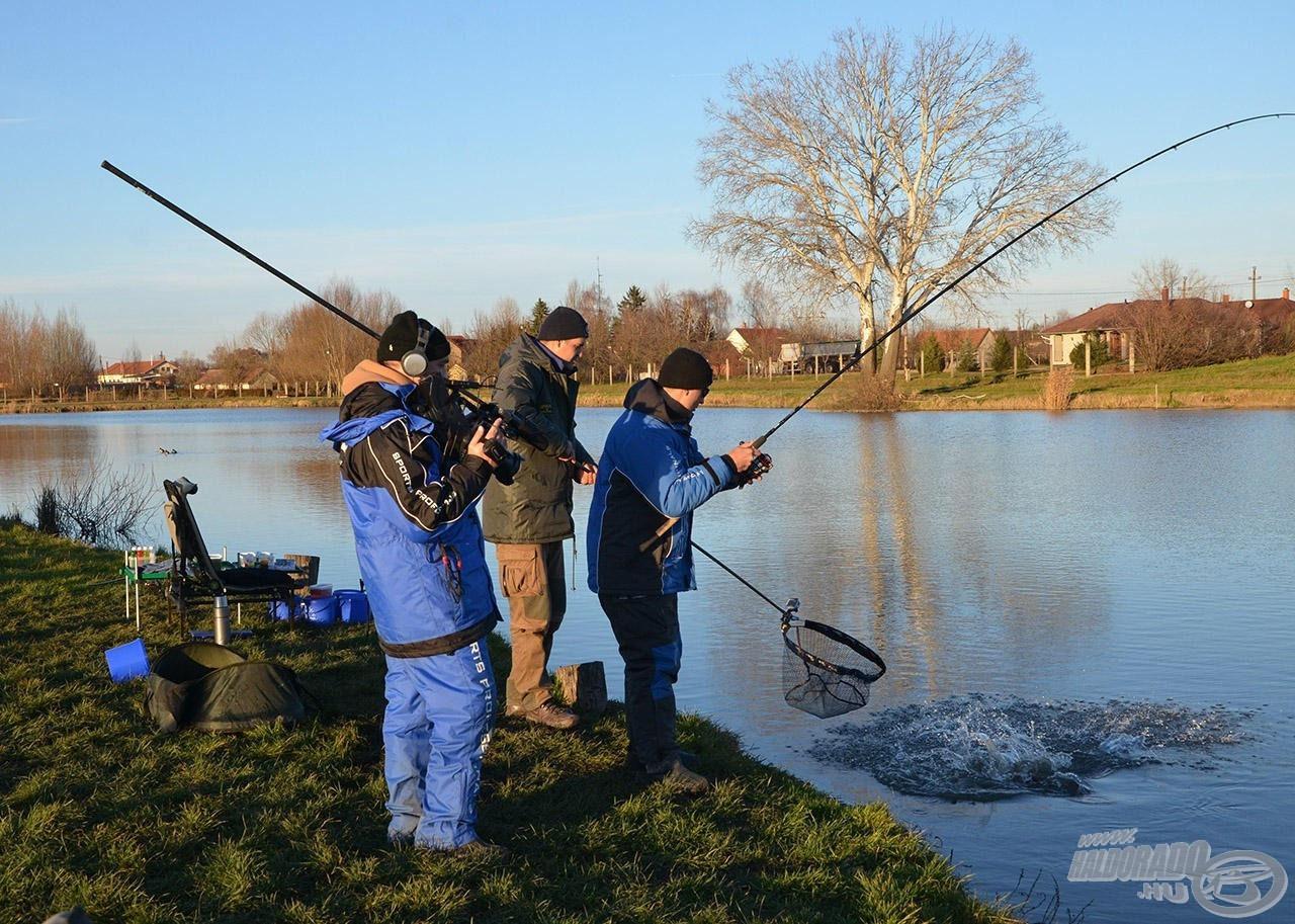A hideg vízi horgászathoz is adnak majd jó tippeket a feederspecialisták