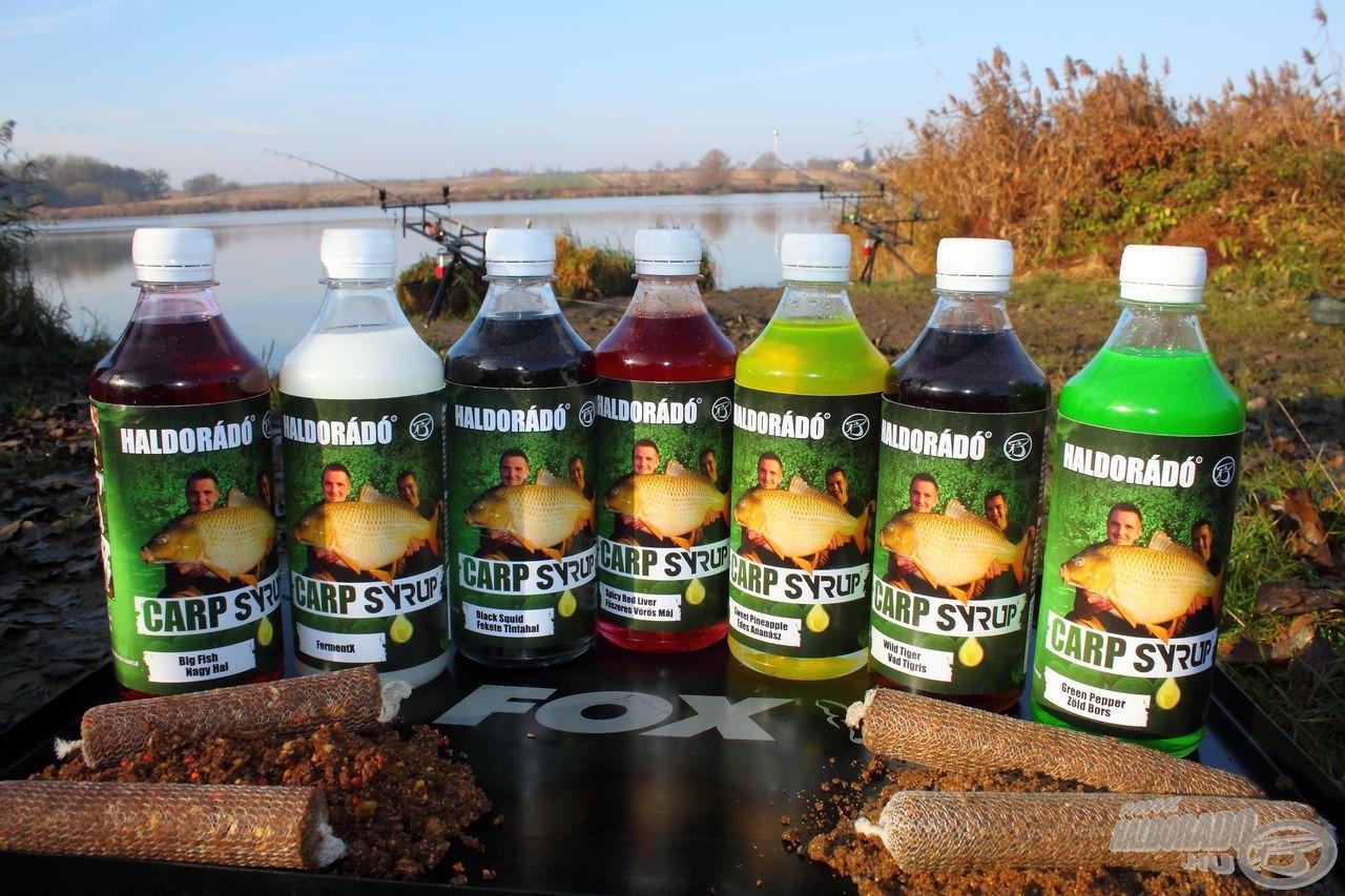 A Carp Syrup termékcsalád már megvásárolható lesz a Pontyhorgász Napokon