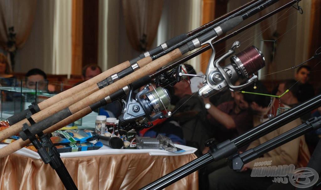 Bemutatásra kerülnek Döme Gábor kedvenc felszerelései és végszerelékei is