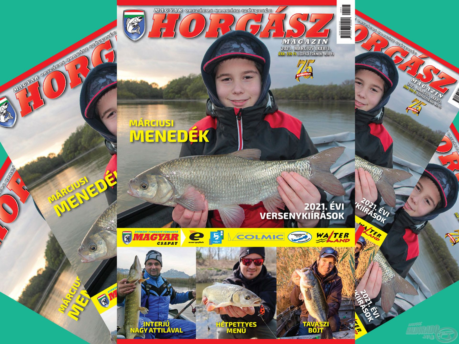 Megjelent a Magyar Horgász 2021. márciusi száma