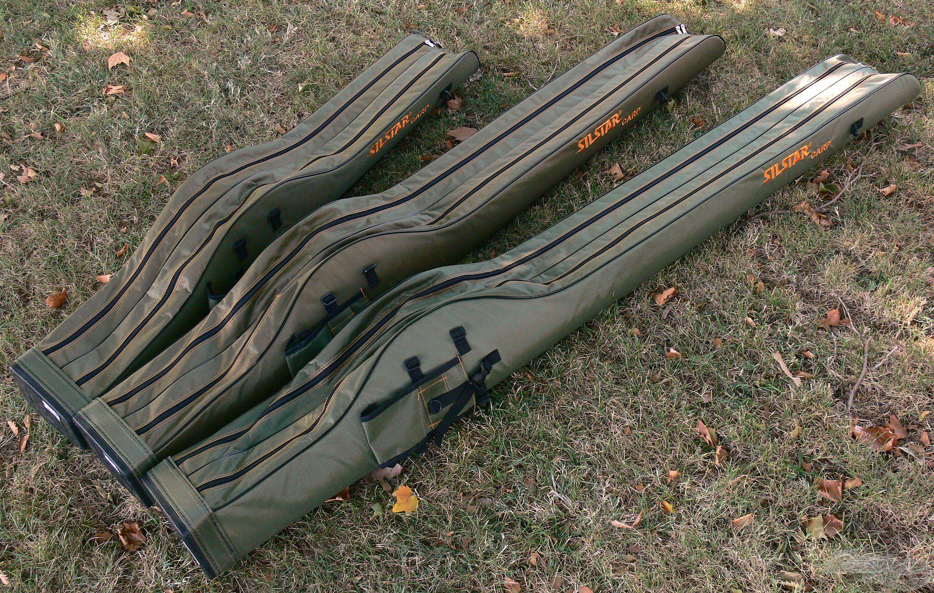 Igazán strapabíró, biztos védelmet nyújtó pontyozó bottartó táskák a Silstartól