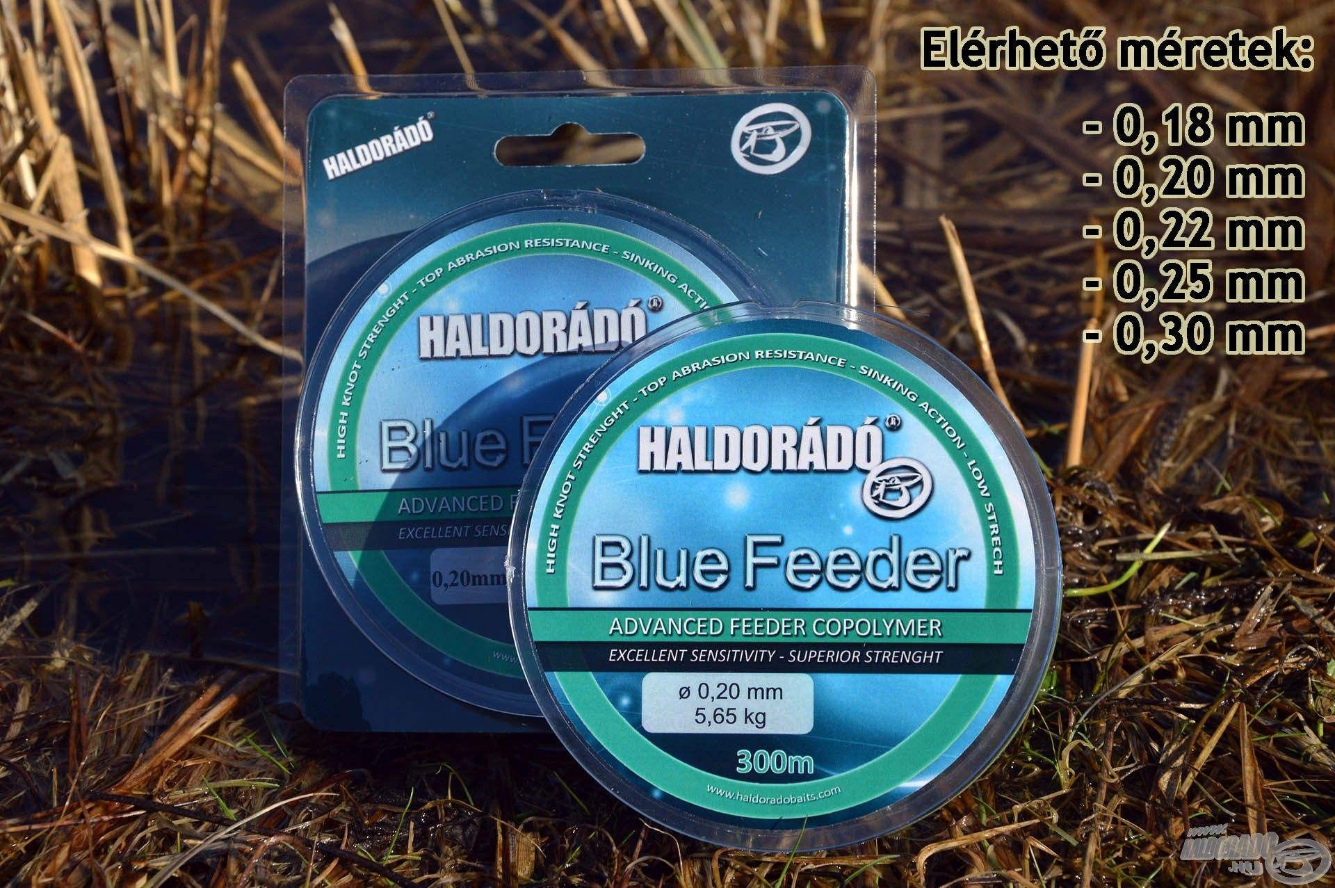 A Haldorádó Blue Feeder látványos kék…