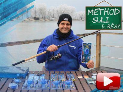 Method suli 5. rész – Alap fix method feeder végszerelék összeállítása, csalitüskés horogelőke elkészítése