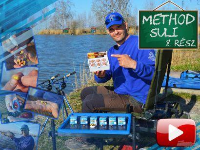 Method suli 8. rész – Ismerkedés a method feeder csalikkal
