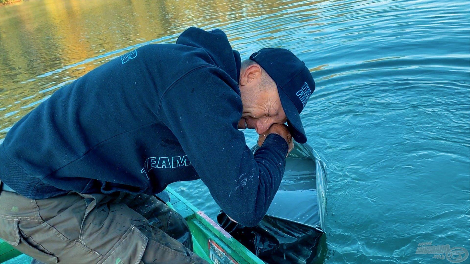 Megkönnyezi Gábor ezt a szép halat