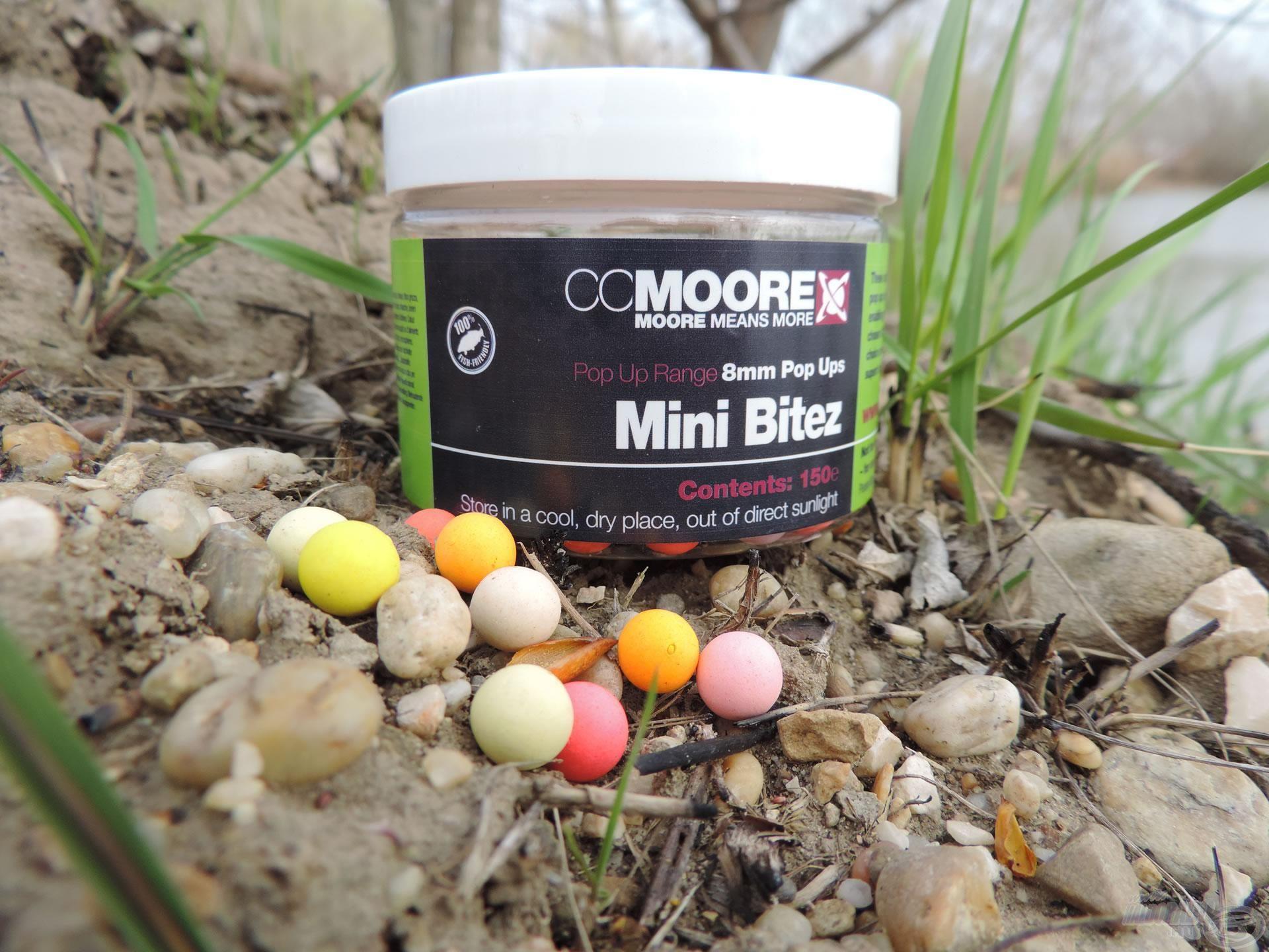Mini Bitez – előtérben a sárga pici golyó