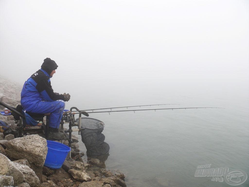 Gyakran horgászom télen is