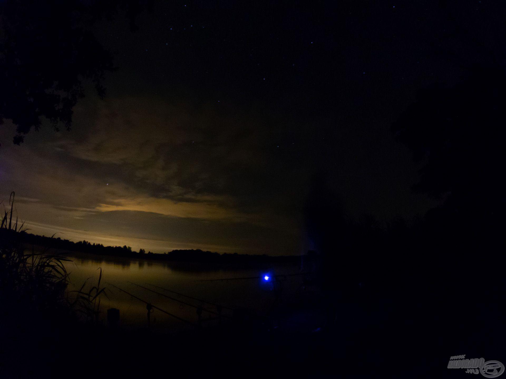 Az éjszaka legszebb pillanata