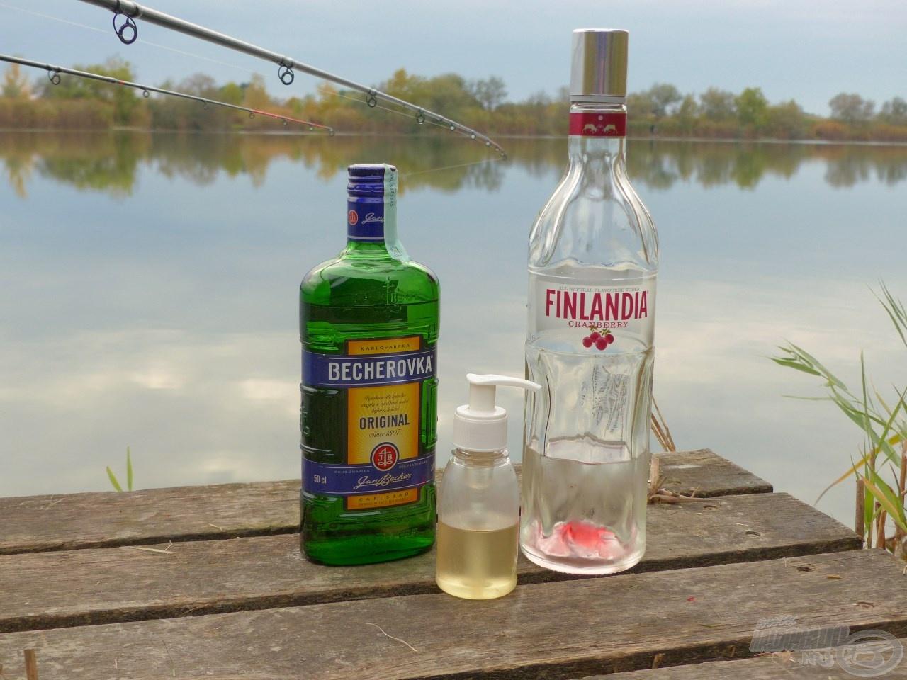 Ezeket a nemes italokat pumpás flakonba töltve…