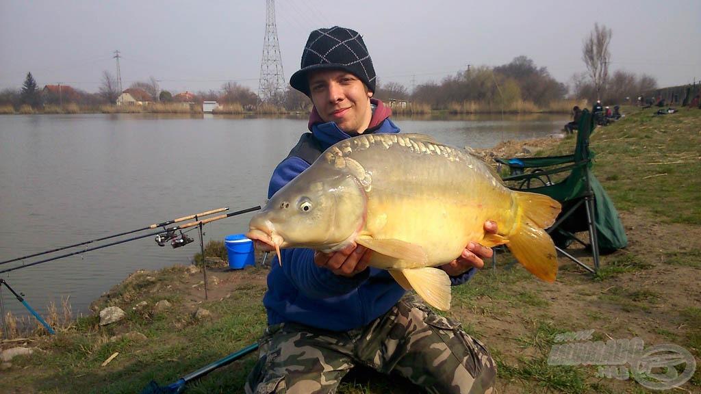 A Pellet Pack már kora tavasszal igazolta, hogy a nagytestű halak egyik kedvence. 2015 első nagytestű pontya 6,80 kg volt